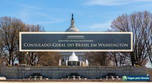 Vaga aberta no Consulado do Brasil em Washington