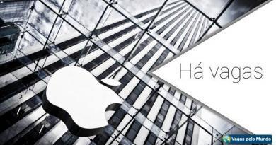 Apple esta contratando em diversos paises
