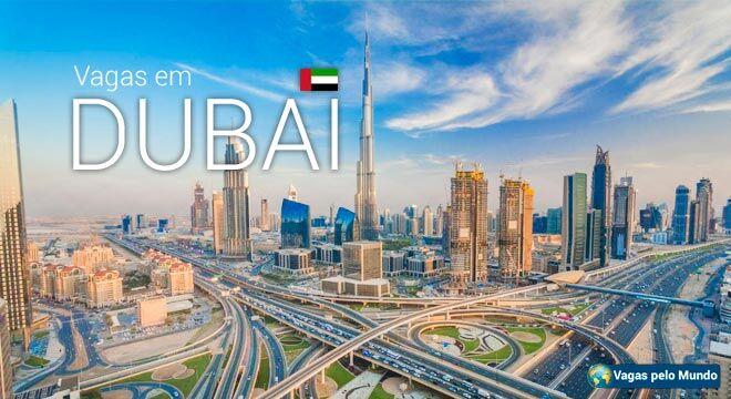 Dubai tem centenas de vagas abertas