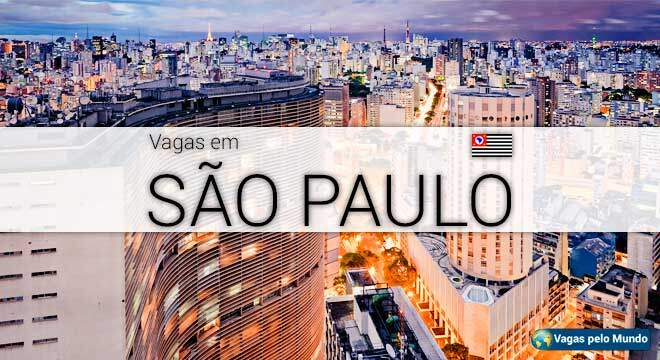 Sao Paulo tem mais de 185 mil vagas abertas