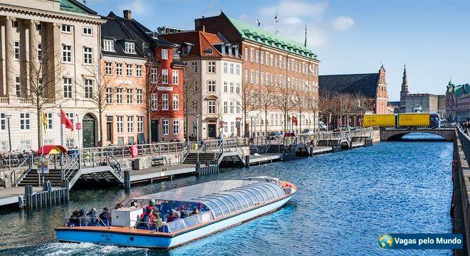 Governo da Dinamarca oferece bolsas de estudo para brasileiros