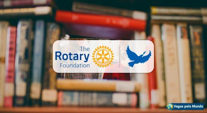 Rotary esta oferecendo bolsas de estudo em 6 paises