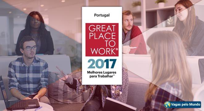 As 20 melhores empresas de Portugal para se trabalhar