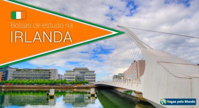 Governo da Irlanda esta oferecendo bolsas de estudo