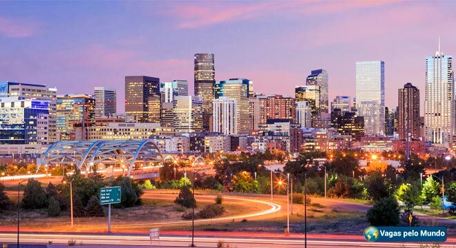 Denver tem vagas abertas para quem fala portugues