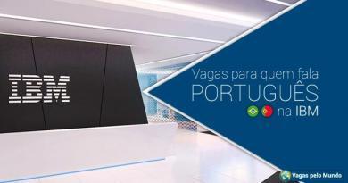 IBM esta contratando profissionais fluentes em portugues
