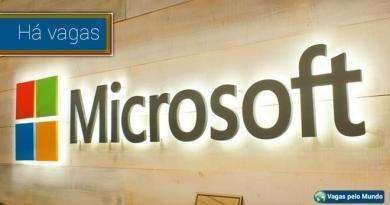 Vagas Microsoft