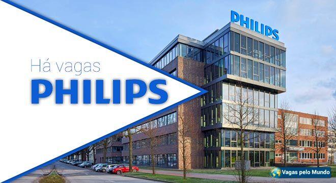 Philips tem mais de 1,8 mil vagas abertas