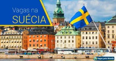 Suecia tem mais de 70 mil vagas abertas