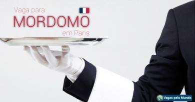 Embaixada do Brasil em Paris esta contratando mordomo