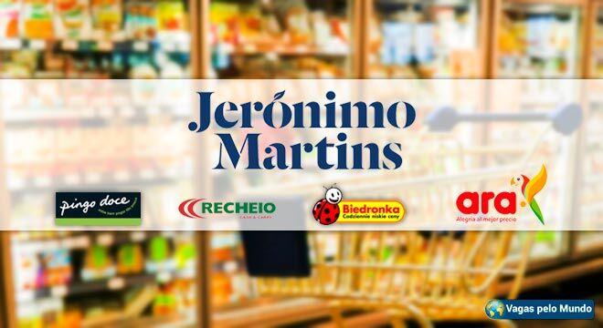 Vagas na Jeronimo Martins em diversos paises