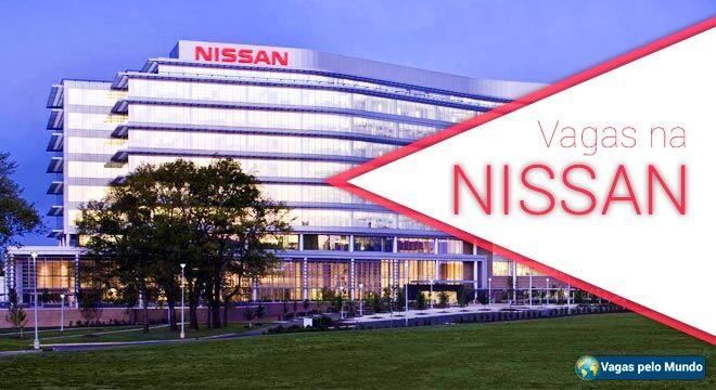 Nissan esta contratando em diversos paises