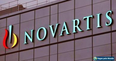 Novartis esta contratando em diversos paises