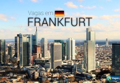 Vagas na Alemanha: Frankfurt tem mais de 18 mil oportunidades