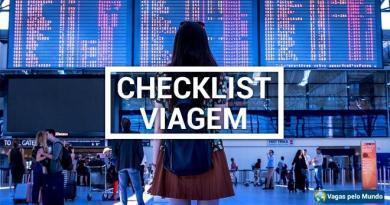 Checklist viagem
