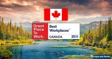 Melhores empresa para se trabalhar no Canadá