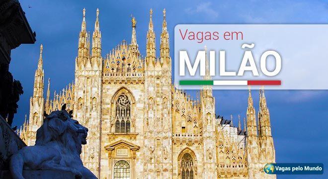 Vagas em Milão