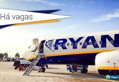 Companhia aérea Ryanair tem 232 vagas abertas