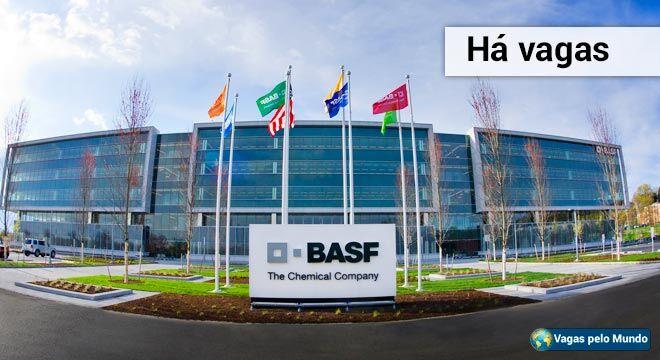 Vagas nas BASF