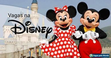 Vagas na Disney