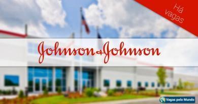 Vagas na Johnson e Johnson