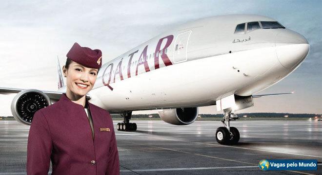vagas na Qatar Airways