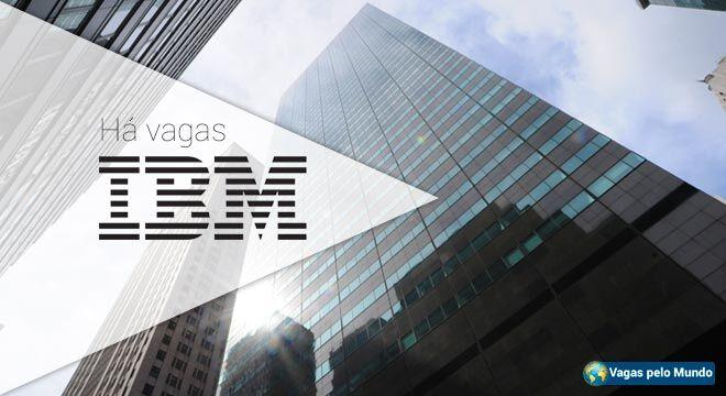 Vagas na IBM para quem fala português