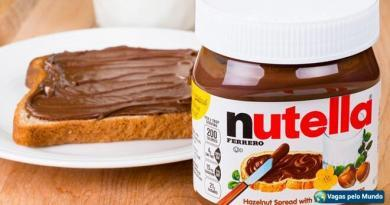 Vagas Nutella
