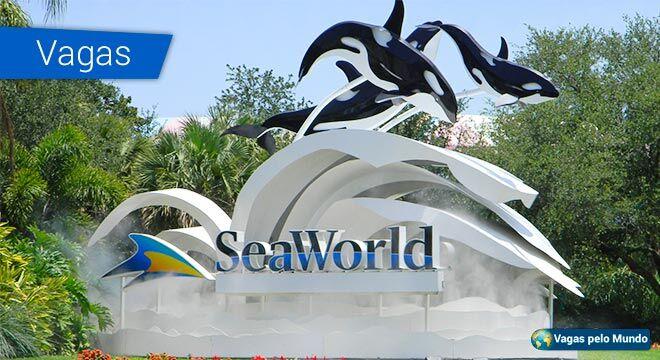 SeaWorld está contratando nos Estados Unidos