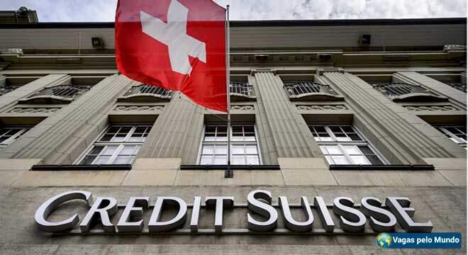 Vagas Credit Suisse