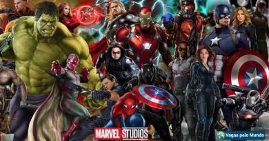 vagas na Marvel