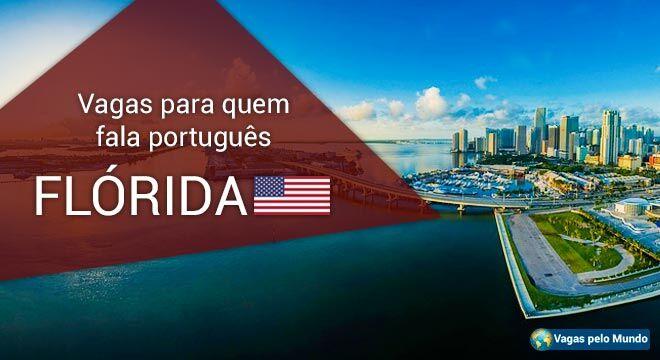 Vagas para quem fala portugues na Florida