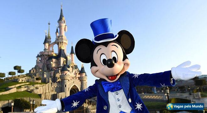 Vagas Disney Paris