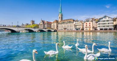 vagas na Suíça