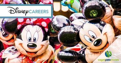 Conheça as vagas abertas na Disney