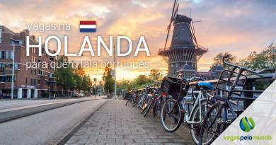 Vagas na Holanda para quem fala português