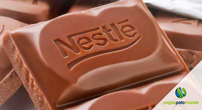 Vagas na Nestlé em Portugal, Suíça, Espanha e Estados Unidos