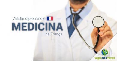Como validar o diploma médico na França