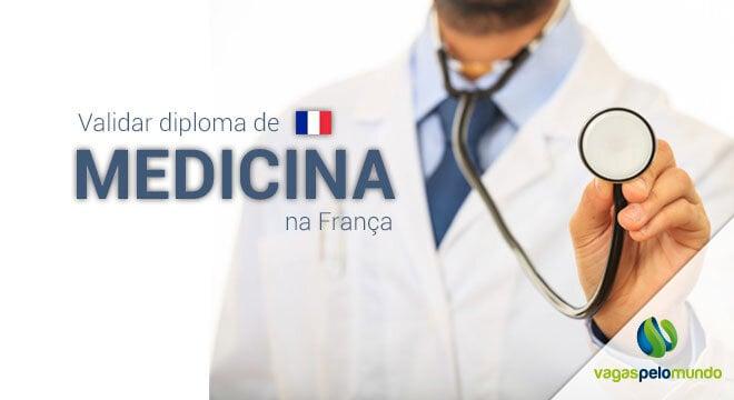 Validar diploma medicina Franca