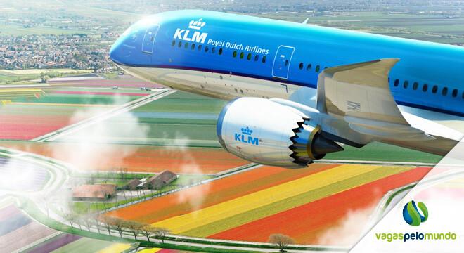 Vagas na KLM