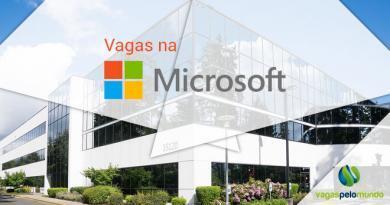 Vagas na Microsoft