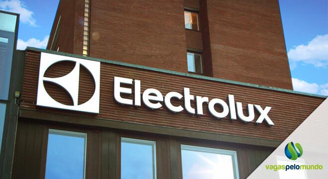 Vagas na Electrolux