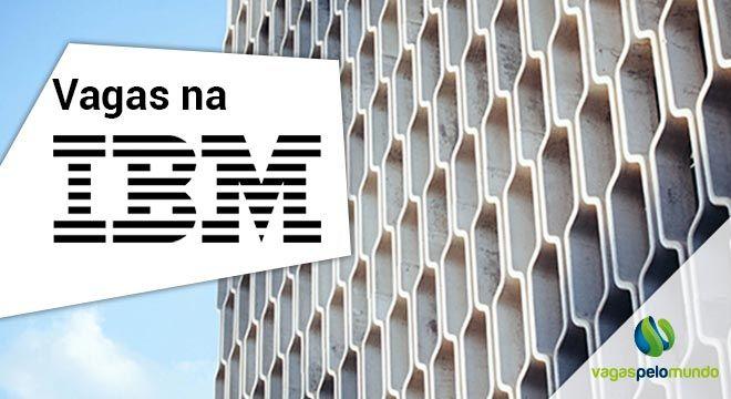 Vagas na IBM para quem fala portugues