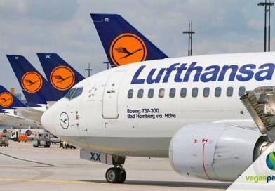 Vagas na Lufthansa, companhia está recrutando 134 profissionais
