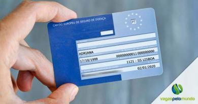 Cartão Europeu de Seguro Doença, saiba como funciona e quem pode utilizar