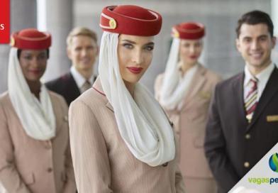 Emirates está recrutando em Portugal com salário inicial de € 2.290