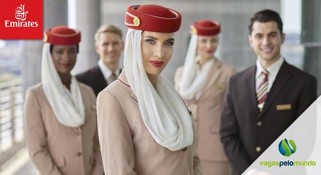 vagas na Emirates