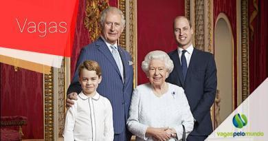 vagas na Família Real Britânica