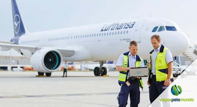 Vagas na Lufthansa