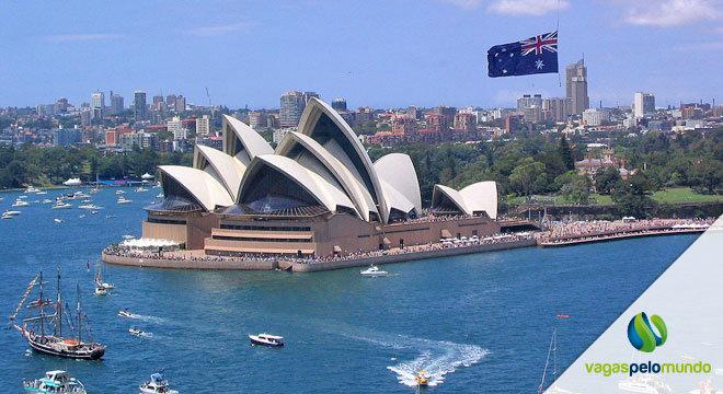 Vagas na Austrália